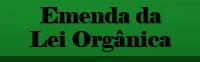 Emendas à Lei Orgânica